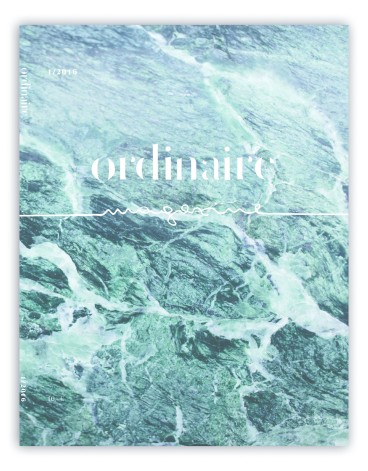 Fabian Rettenbacher Ordinaire Magazine Cover Web