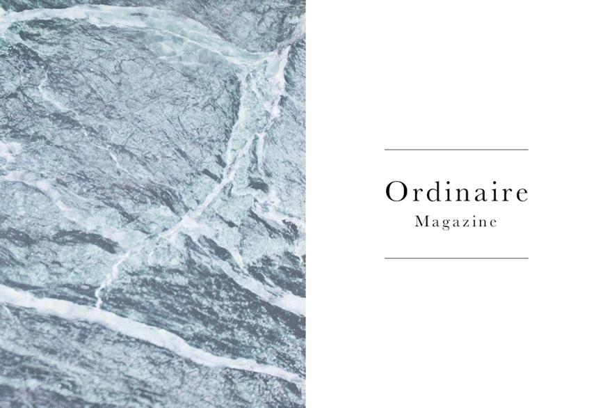 Fabian Rettenbacher Ordinaire Magazine Menu Header