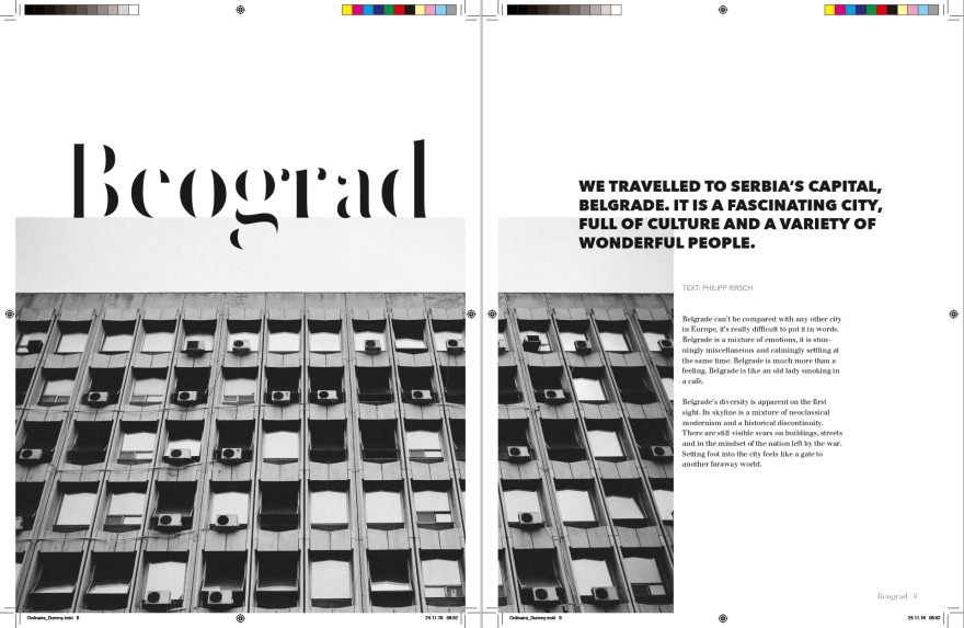Ordinaire Magazine Inside Fabian Rettenbacher
